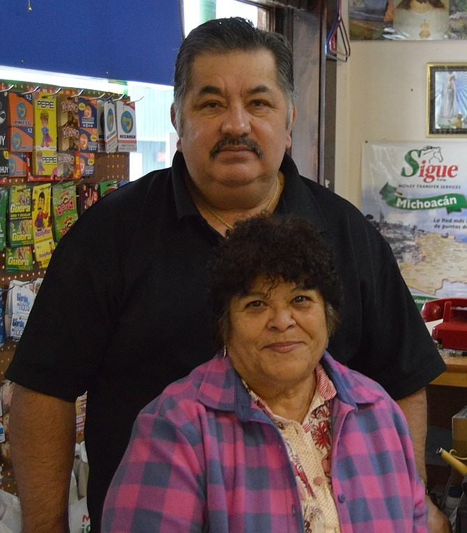 Carlos and Gloria Dennis have recently expanded their Odell butcher and meat market, tripling its floor space just in the last few days.