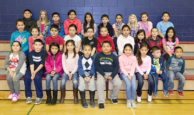 Pioneer elementary school november students of the month - Laura ashley zaragoza ...