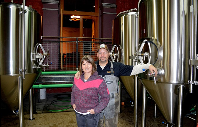 STEVE AND Laurie Light of Freebridge Brewing want people coming to sample beers and a meal and see the making of beer in action. The pub entrance is at the top of a ramp overlooking the large, well-lit brewing area.
