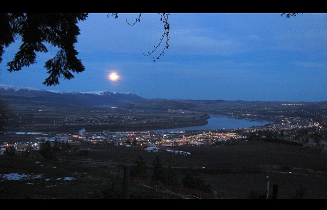 Dave Rawson of Cherry Heights photographed the full moon Christmas Eve. The full moon on Christmas Day was a rarity, the first since 1977.