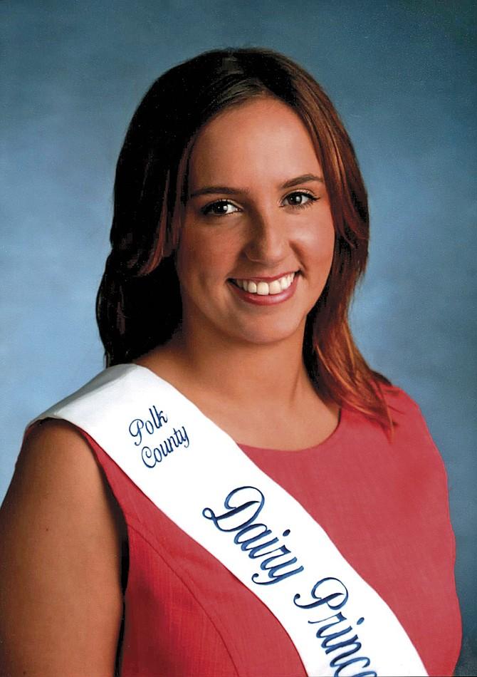 Gina Atsma wants to be Oregon's Dairy Princess.
