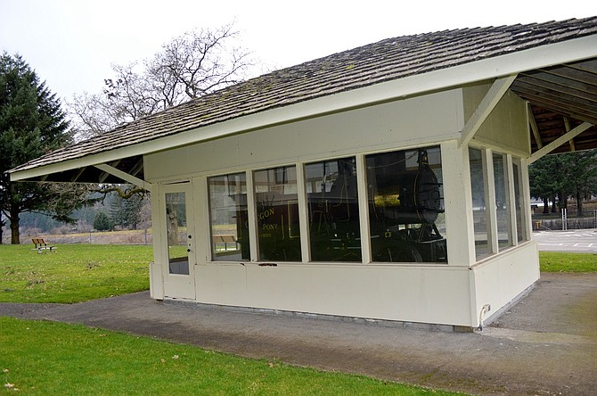 OREGON PONY will get a rebuilt home, thanks to a $10,000 grant from Union Pacific Railroad to the Port of Cascade Locks. The shelter at Cascade Locks Marine Park, which houses a Civil War-era steam engine, built in 1862, has been weathered and warped by the years.