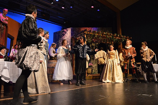 "The Hood River Valley High School theater department will debut its winter play, ""Taming of the Shrew,"" on Friday."