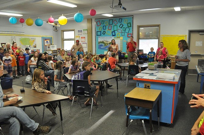 File Photo: A Back To School Night event at Clearwater Valley Elementary School.