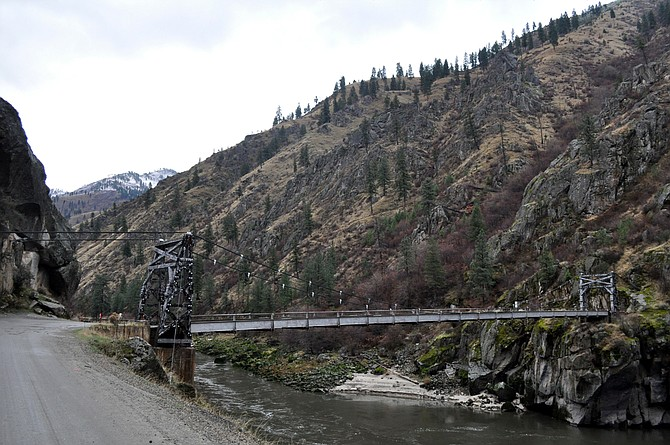 The Manning Crevice Bridge; night closures related to the project started Monday, March 14.