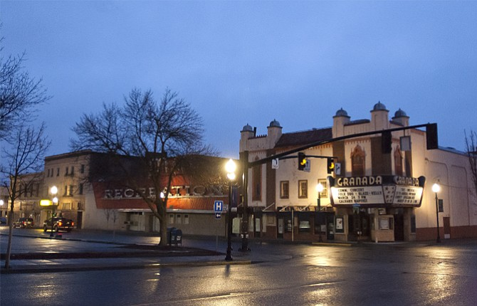 An advisory committee voted to reject all proposals for the Granada block, pictured above at dawn Wednesday, and sell all three buildings.