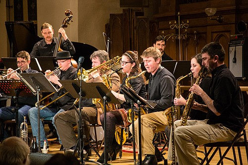 The Portland Jazz Composers Ensemble presents Stories of Amazing Oregonians with original music at The Columbia Center for the Arts on Friday, April 1, at 7:30 p.m. Tickets are $15 online at pjce.org/oregon-stories-project or at the door.