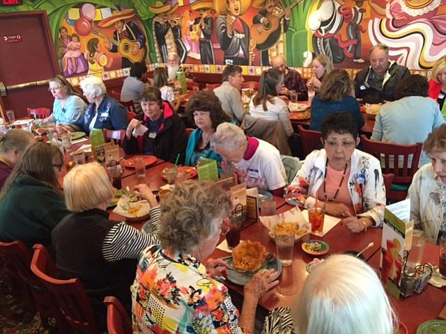 HEART of Hospice volunteer banquet at Casa el Mirador in The Dalles.