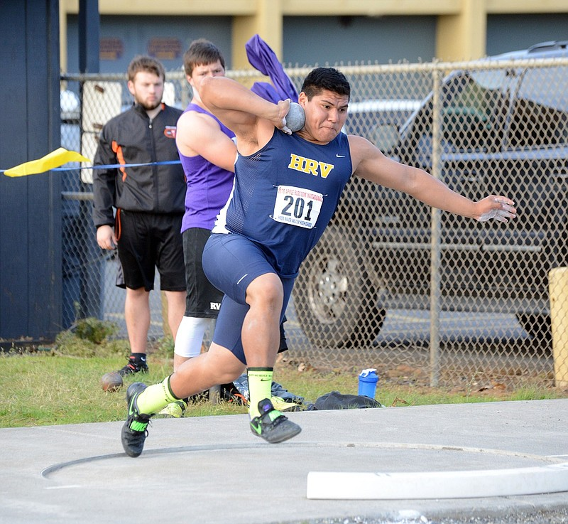 HRV Boys Track Team Runs With The Best In 5A