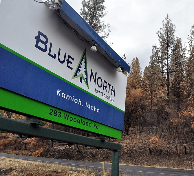 Blue North Forest Products at Kamiah.