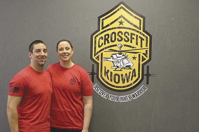 Shane and Buffy Rider opened CrossFit Kiowa in November of 2015.