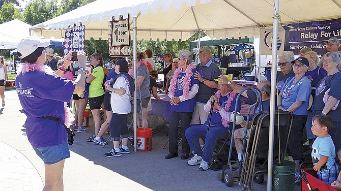 The Polk County Relay for Life hit Riverview Park in Independence on Saturday and Sunday. The event raised money for cancer research, celebrated cancer survivors and remembered those who have been lost. For more on Relay for Life, see Page 7A.