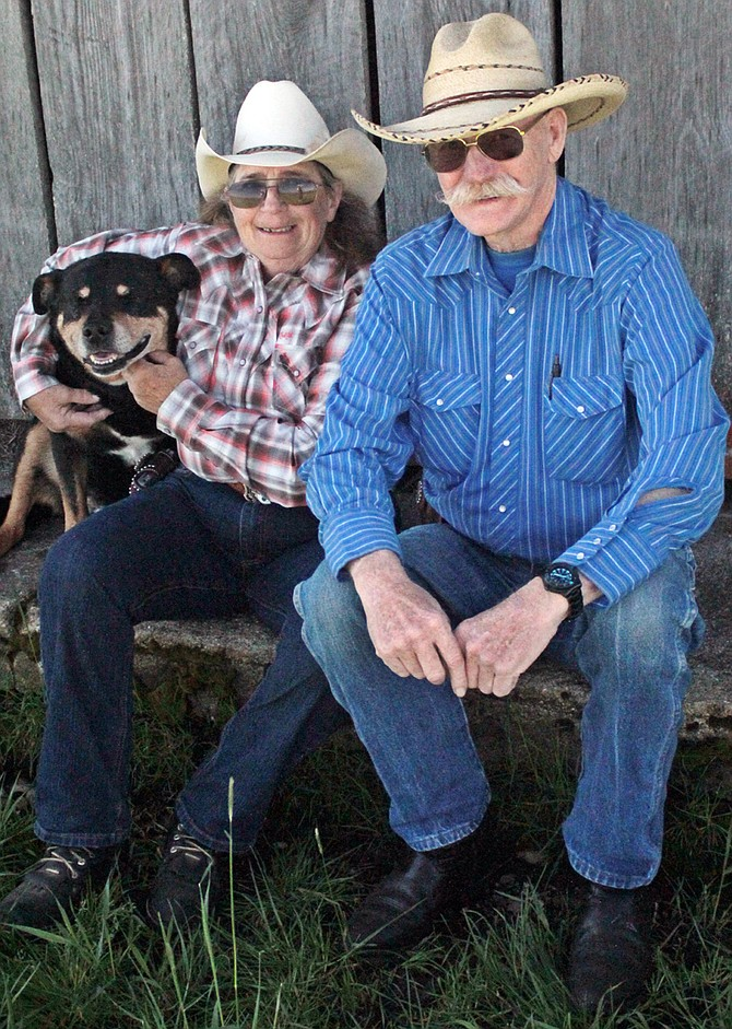 Gary and Karleen Dutcher of Stites are the grand marshals for the 2016 CVRA Rodeo and parade.
