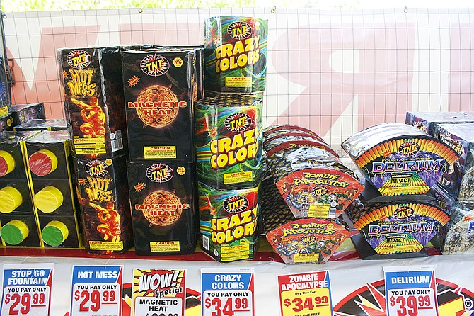 Using fireworks inappropriately can lead to increase risks of fire or injuries.