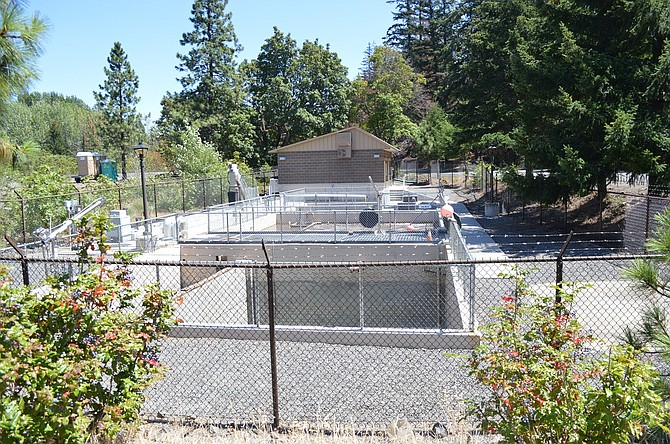TREATMENT PLANT in Mosier came back online in mid-June. The city had been trucking sewage to Hood River for treatment while their system was shut down following the train wreck.