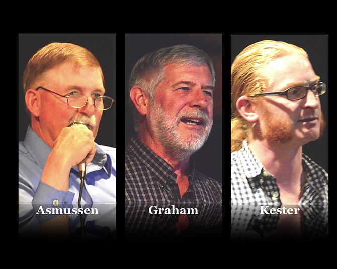 Candidates for Okanogan County PUD position No. 3