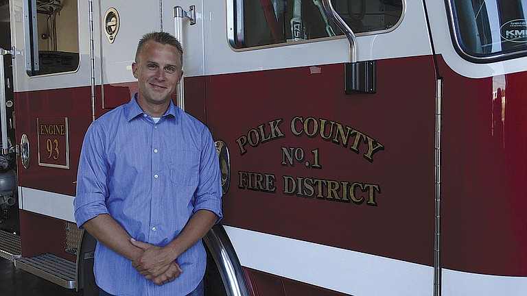 Capt. Ben Stange was named Polk County Fire District No. 1 fire chief on Friday.