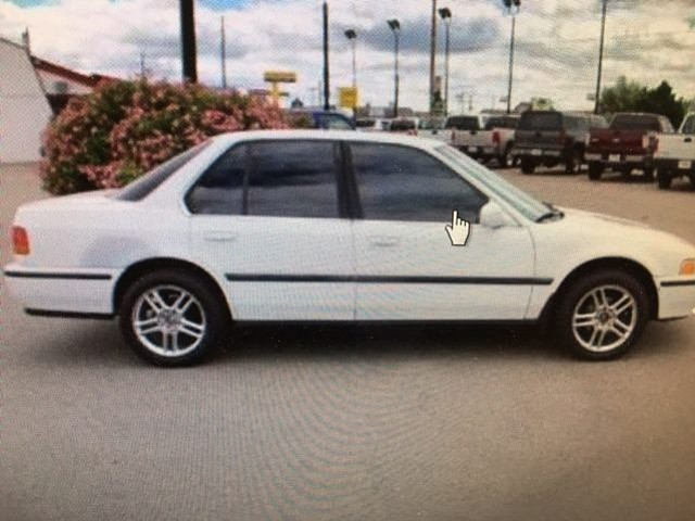 The three suspects officers are trying to find were last seen in a car similar to this one.