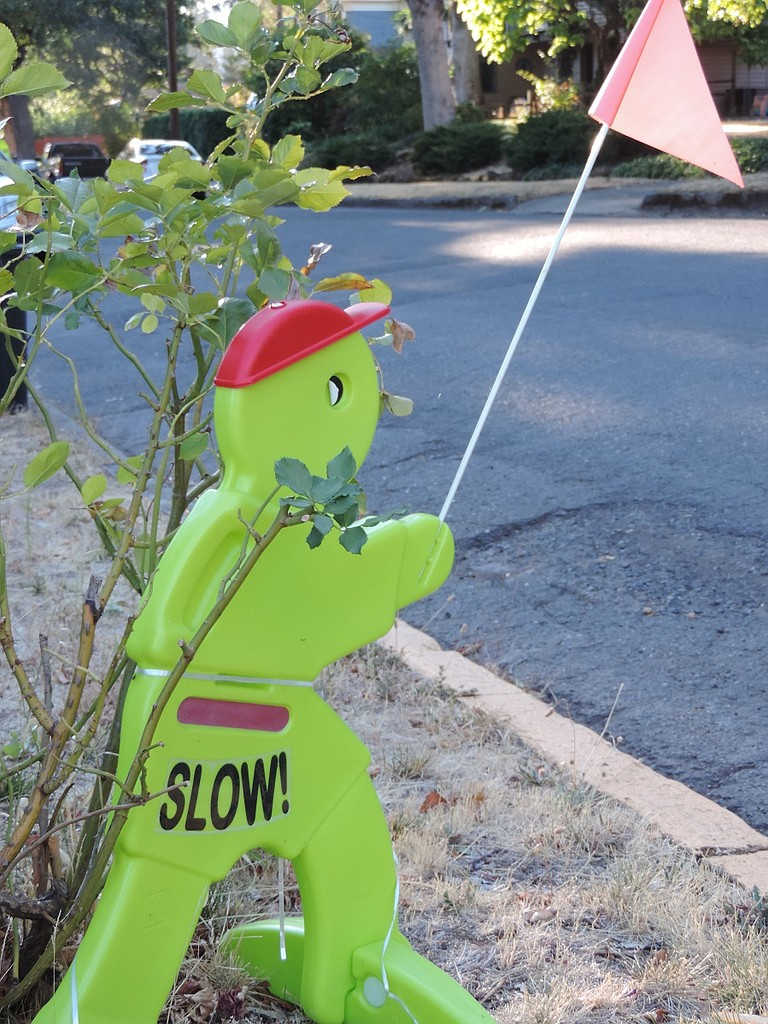 NEIGHBORHOOD reminder on the Heights; kids are back in school Tuesday, Aug. 30.