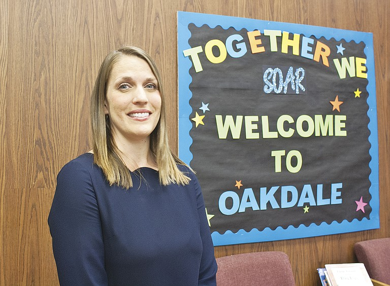 Maria Drennen is ready for her first year as principal at Oakdale Elementary School.