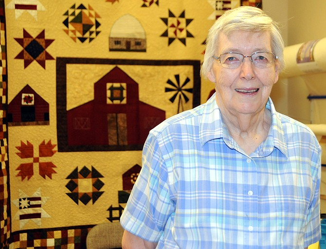 Marietta Hanson is the featured quilter for the 10th Biennial Sew-Ciety Guild show Sept. 24 and 25.