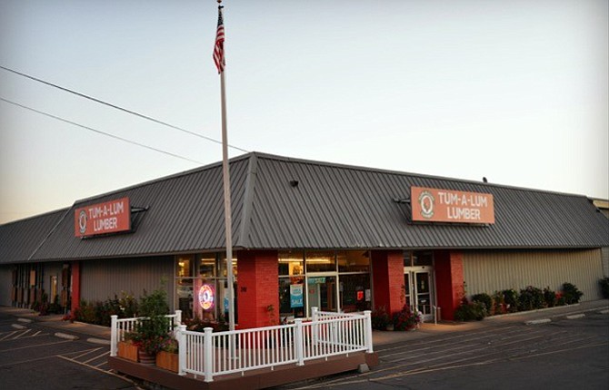 Tum-A-Lum Lumber in The Dalles, above, is now located at 240 Terminal Ave. in The Dalles.