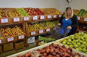 Autumn foliage is emerging everywhere, and the calendar for the next three months sprouts a wide variety of events and attractions, including the county's copious produce stands with fruit grown right there — and opportunities for U-pick.
