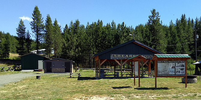The Elk City Trailhead and information kiosk in Elk City includes a pavilion, kiosk, parking and wheelchair accessible restroom. It is located at 104 Main Street off State Highway 14. It serves a jumping-off point to a number of trail and road systems, including the historic Elk City Wagon Road.