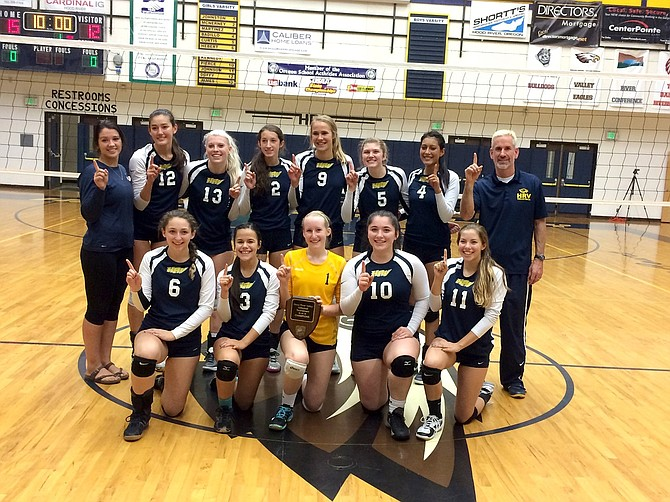 HRV volleyball team won yet another tournament last weekend.
