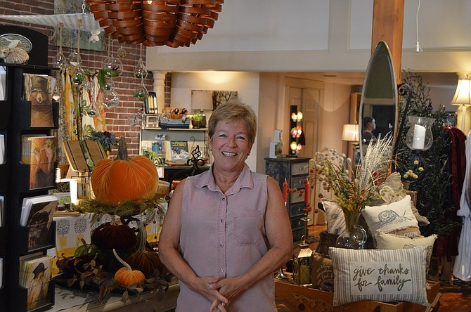 Meg Dueber, who opened At Home on Oak 19 years ago in downtown Hood River, will close the store at the end of February.