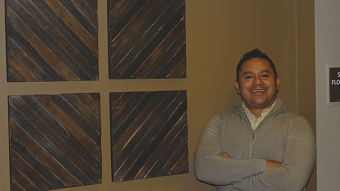 Erubiel Valladares will serve as Independence's community liaison.
