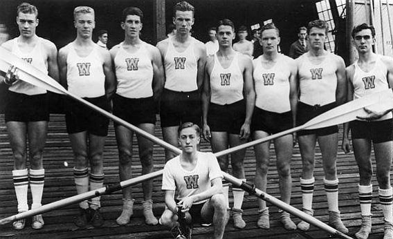 OLYMPIC Gold-winning University of Washington team crew team is the subject of the compelling non-fiction book.