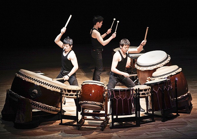 Kodo, Drummers of Japan will liven up Yakima's Capitol Theatre stage Jan. 27 as a part of the Theatre's Extras program.