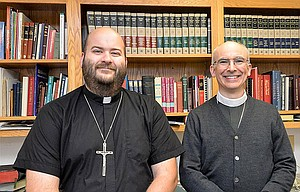 Pastor Jesse DeDeyne, left, joins Pastor Jesse Jacobsen in serving the combined parishes of Concordia Lutheran Church in Hood River and Bethany Luthern Church in The Dalles. DeDeyne will be formally installed Sunday, Oct. 23, in Hood River.	Contributed photo