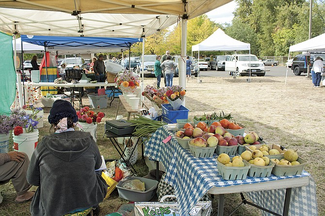 Polk County Bounty Market had more vendors, more customers and made more money in its seventh year. Bounty Market Manager Bonnie Dreier has doubled the vendors.
