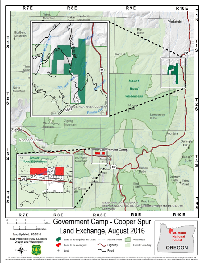 Forest Service releases EIS report for Mt. Hood land swap | Hood ...