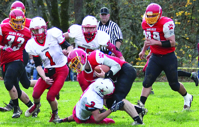 The Dufur defense has allowed 12.9 points a game this season, but they will face a Lowell offense that averages 60.9 points a contest. The Red Devils broke open a 30-30 tie with three fourth-quarter scores in their 54-30 quarterfinal upset of Powers last weekend. Radio station 102.3 KYYT-FM has the broadcast at noon Saturday.