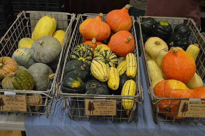 Storage crops, like squash and onion, can be purchased in bulk for reduced costs.