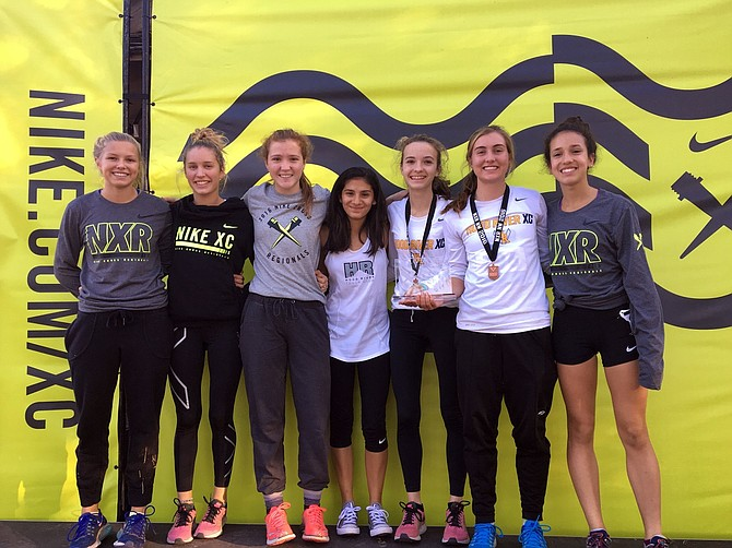HRV XC RUNNERS had a banner year at the annual NXR Northwest race in Boise, Idaho, last weekend, where the Eagles ran against some of the best teams in the Pacific Northwest. The team entered the second-tier race. The girls placed fifth out of 41 teams.