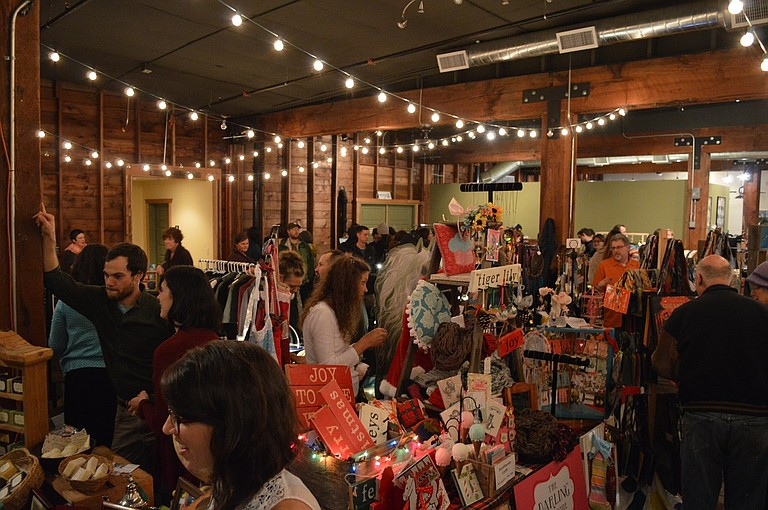 SPRINGHOUSE Cellars, scene of Farmers Markets in early 2017, also hosted the fourth annual Rural Craft Revival event last year, and will again this year on Dec. 12.