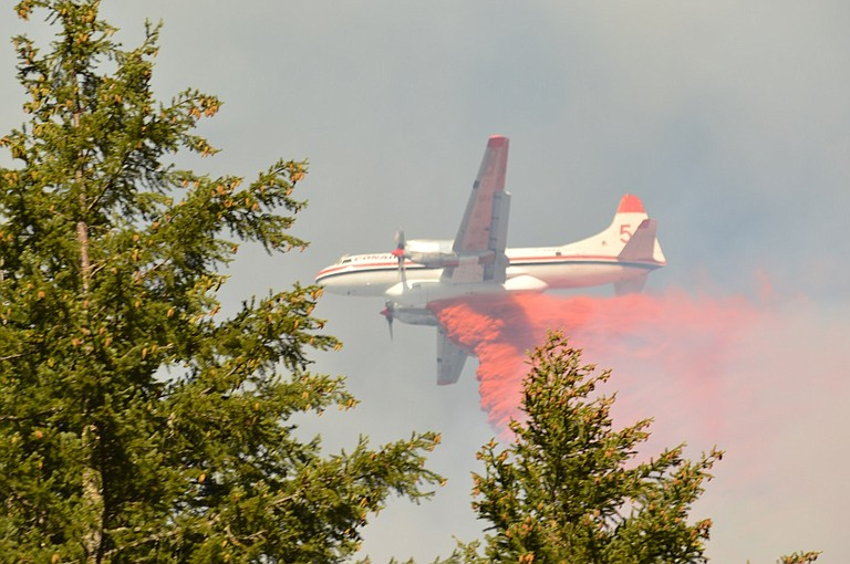 Top stories from the second half of 2016 included the Neal Creek Fire in August.