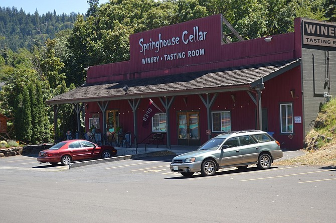 Springhouse Cellars hosts the monthly Hood River Farmers' Market, January through April, beginning Jan. 14.