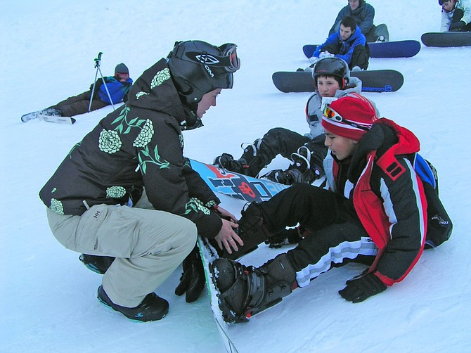 SKIERS and boarders ride the MLK holiday every year, and volunteers from Hood River Rotary Club are there to greet them. Proceeds benefit Hood River Rotary Club scholarships programs for local kids and other community projects.