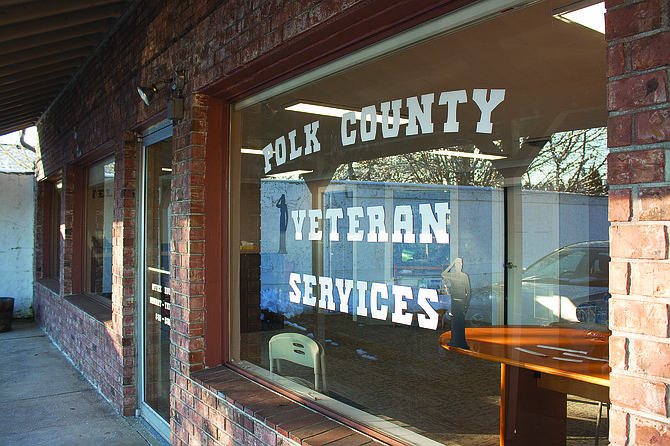 A veterans service office is now open in Polk County. Previously, veterans had to go to Salem to get help with benefit claims.