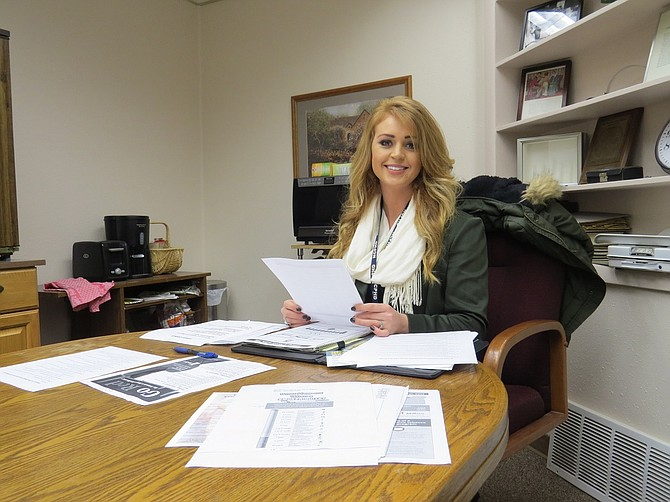 HAYLI EIESLAND researches and compiles facts and stats about the dangers of smoking that she disseminates to community members.