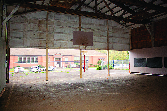 The Falls City School Board will investigate ways to build a scaled-back PE and practice gym at Falls City Elementary School so students can attend PE classes on-site.