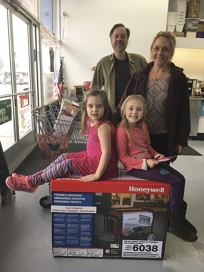Lisa Weaver was chosen as the winner of Monmouth Hardware's $1,000 Shopping Giveaway on Nov. 15. Weaver was selected at random from about 200 entries submitted at the store. Monmouth Hardware, 401 Main Street East, will accept entries for a spring shopping giveaway beginning in March.