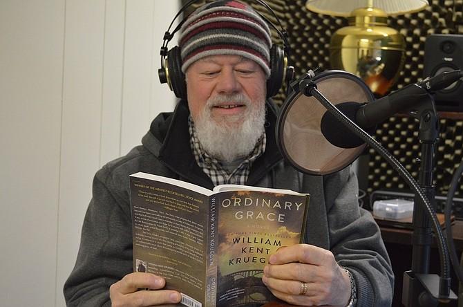 "HEAR READER Gary McFarlen Fridays on Radio Tierra, with ""Ordinary Grace."""