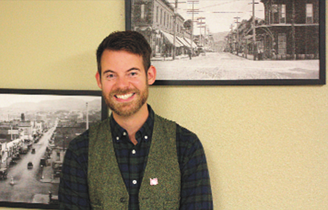 Jeremiah Paulsen will be the new executive director of The Dalles Main Street, an organization that works to revitalize the downtown business district of The Dalles.