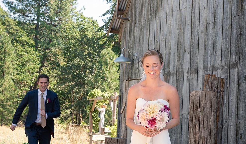 Real Weddings Tin Roof Barn Katherine Johnson Reid And